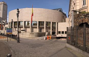 Edificio nuevo del Senado de España.