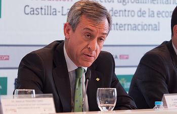Javier López Martín, presidente de Eurocaja Rural
