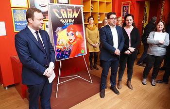 Presentación del Cartel de Carnaval de Albacete 2020. Foto: Manuel Lozano Garcia / La Cerca