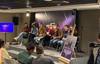Presentación de el Festival de Los Sentidos en El Corte Inglés de Callao en Madrid