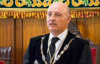 Vicente Rouco. Presidente del TSJCLM.