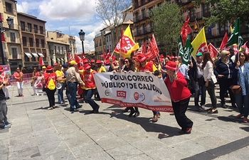 Movilización Correos en Toledo.