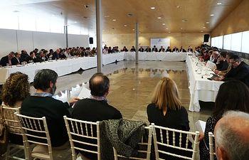 Reunión de la Mesa del Agua en Albacete. Foto: Manuel Lozano Garcia / La Cerca
