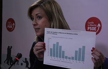 Ana Isabel Abengózar, diputada del Grupo Parlamentario Socialista. Foto: PSOE CLM.