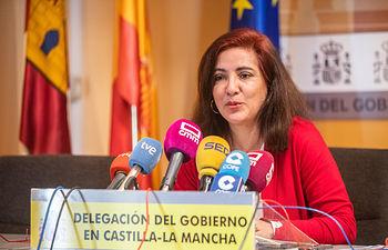 Mar Álvarez, jefa de la Unidad de Coordinación contra la Violencia sobre la Mujer en la región.