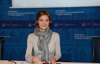 García Tejerina presenta el Plan PIMA Adapta, que destina 12,1 millones de euros a más de 40 actuaciones para impulsar la adaptación al cambio climático en España. Foto: Ministerio de Agricultura, Alimentación y Medio Ambiente