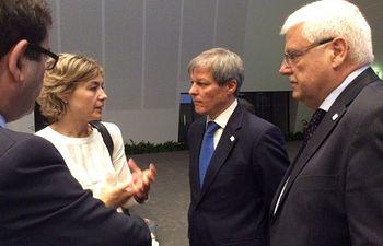 García Tejerina asiste Consejo informal de Ministros de Agricultura y Pesca de la UE. Foto: Ministerio de Agricultura, Alimentación y Medio Ambiente