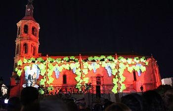Espectáculo multimedia. Fiestas del Vino Valdepeñas.