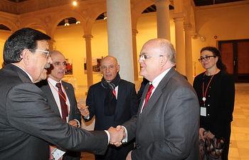 Inauguración del I Congreso de la Abogacía Joven de Castilla-La Mancha.