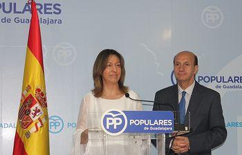 Ana Guarinos y Juan Pablo Sánchez.