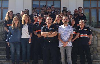 Un total de 26 voluntarios de 7 Agrupaciones de Protección Civil de la provincia de Albacete reciben el Curso Básico DEA.