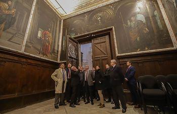 El ministro José Guirao clausura el Consejo de Patrimonio Histórico en Cuenca