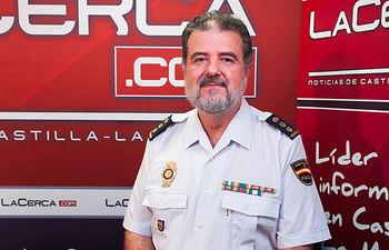 José Francisco Roldán, Comisario Jefe del Cuerpo Nacional de Policía en Albacete.