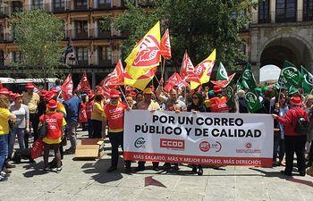 Concentración Correos Toledo.