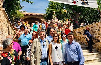 Festividad de Santa Quiteria, en Alcoba de los Montes.