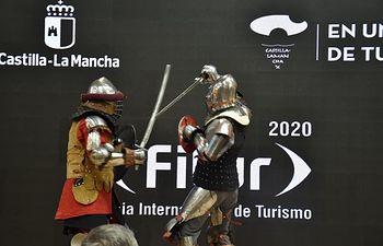 Presentación de Belmonte en el Día de Cuenca en FITUR.