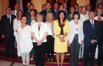 Herrero asistió a la XI Reunión del Pleno de la Conferencia Sectorial de Cultura.
