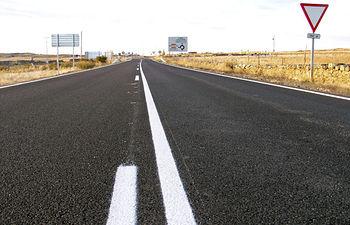Imagen de archivo de una carretera de la Red Autonómica.