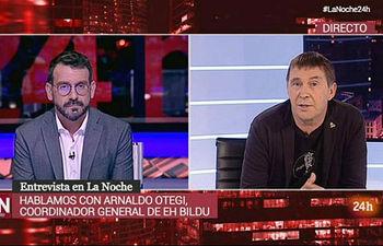 Entrevista a Arnaldo Otegi en TVE - 26-06-19