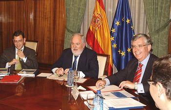 Arias Cañete reunión ANFACO. Foto: Ministerio de Agricultura, Alimentación y Medio Ambiente