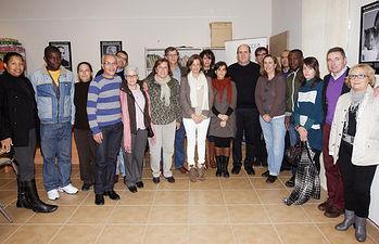 Paloma Leis comparte una jornada con voluntarios en Sigüenza-I.. Foto: JCCM.