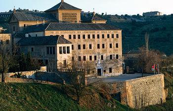 Convento de San Gil, sede de las Cortes de Castilla-La Mancha.