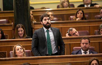 Manuel Mariscal, diputado de VOX por Toledo.