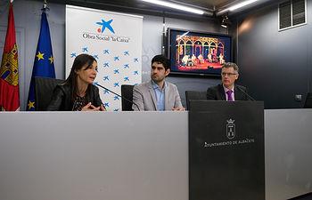 """Presentación del expectáculo """"Un té a la menta"""", organizado por La Caixa y Ayuntamiento de Albacete. Foto: Manuel Lozano García / La Cerca"""