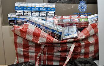 La Policía Nacional desarticula unaorganización especializada en el robo de tabaco y su inmediata introducción en el mercado. Foto: Ministerio del Interior