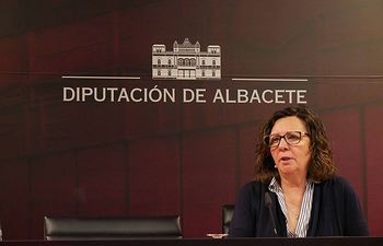 Victoria Delicado, diputada provincial portavoz de Ganemos-Izquierda Unida.
