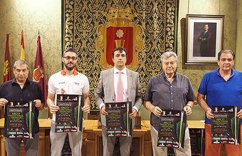 Presentación Campeonato CLM Tiro Arco.