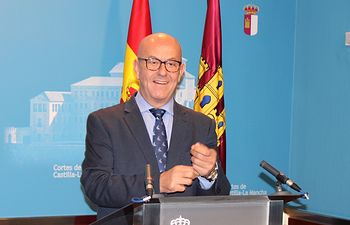 Emilio Bravo, fotografía del diputado regional del Grupo Parlamentario Popular en las Cortes de Castilla-La Mancha.