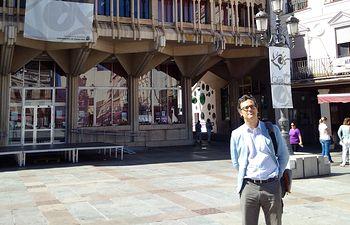 Dimitri Barua, portavoz de la Representación de la CE en España