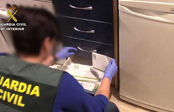 Operación Lubido-Hezurra. Foto: Guardia Civil.