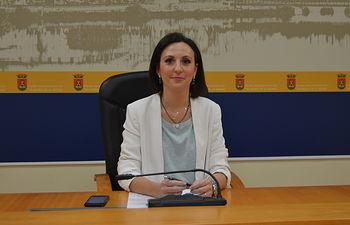 María Rodríguez, portavoz municipal Ayuntamiento de Talavera.