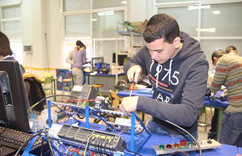 El Gobierno regional regula y convoca la oferta de enseñanzas modulares en ciclos formativos de Formación Profesional. Foto: JCCM.