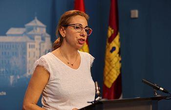 Úrsula López, diputada regional de Ciudadanos en las Cortes de Castilla-La Mancha.