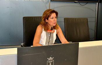 La viceportavoz del Grupo Municipal Socialista en el Ayuntamiento de Albacete, Marisa Sánchez