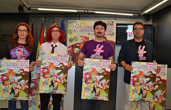 Presentación Albanime 4Players.