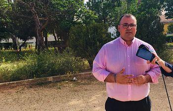 Bernardo Ortega, portavoz popular en el Ayuntamiento de Villarrobledo.