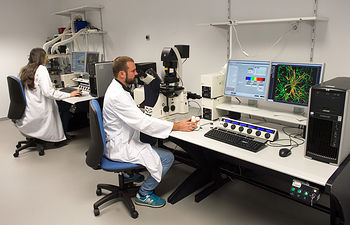 Investigación en el Hospital Nacional de Parapléjicos (Foto: Carlos Monroy)