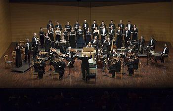 Concierto 10. Auditorio. Les arts Florisants, Wiliam Christie, director. Misa en si menor BWV 232 de J. S. Bach
