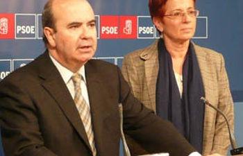 Gaspar Zarrías y Begoña García Retegui