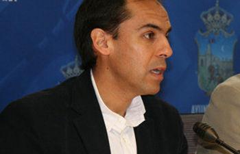 Daniel Jiménez, concejal del Grupo Socialista en el Ayuntamiento de Guadalajara
