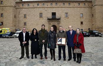 Casero visita Pastrana II. Foto: JCCM.