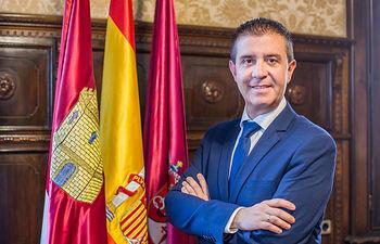 Santiago Cabañero Masip, presidente de la Diputación de Albacete.