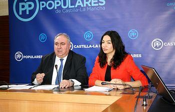 Vicente Tirado y Claudia Alonso.