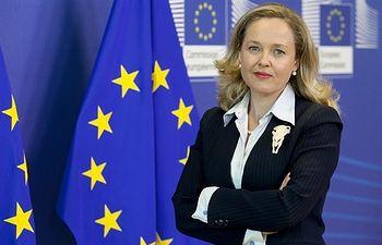 Nadia Calviño. Foto: Comisión Europea.