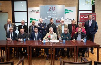 Presentación de los actos del 20 Aniversario del Grupo Multimedia de Comunicación La Cerca