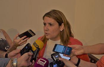 Tita García Élez, alcaldesa de Talavera.